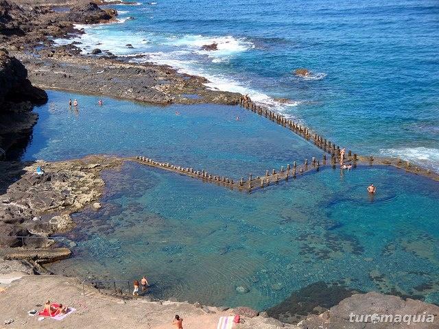 Mejores 1680 im genes de 1 e es canary islands en for Piscinas naturales isla de la palma