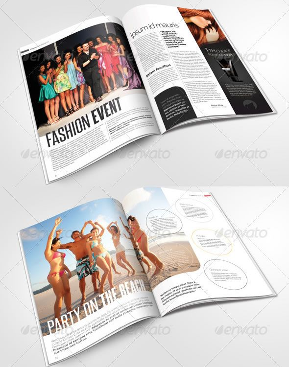 Creative Magazine Layout Design Ideas