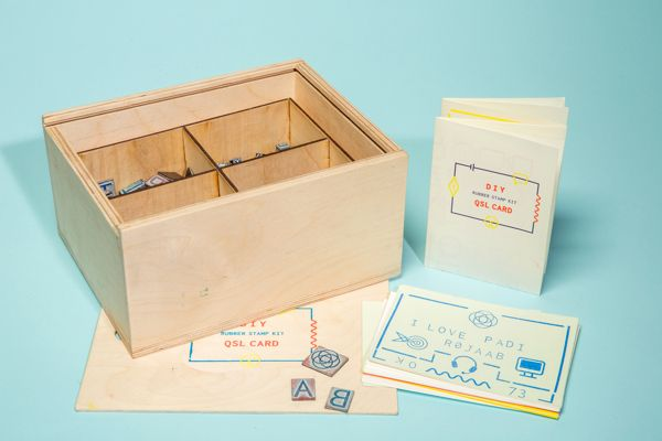 DIY QSL Card Kit on Behance