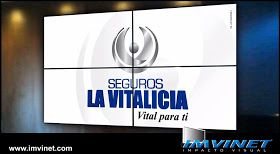 IMVINET - Digital Signage - Señalizacion Digital: VideoWall de Seguros La Vitalicia