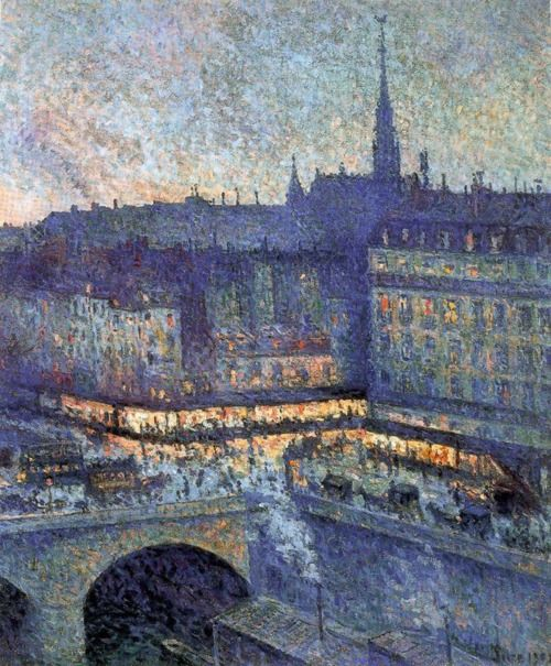 La Sainte-Chapelle, Paris by Maximilien Luce