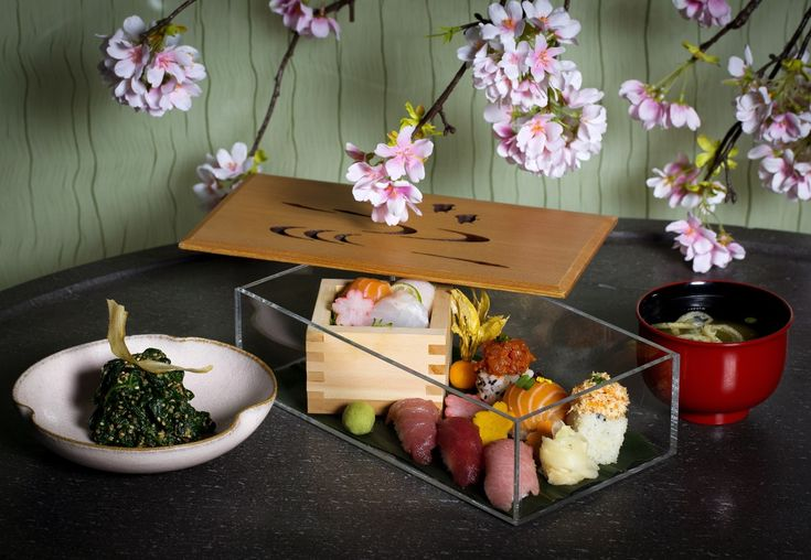 Sakura at Sake no Hana sushi