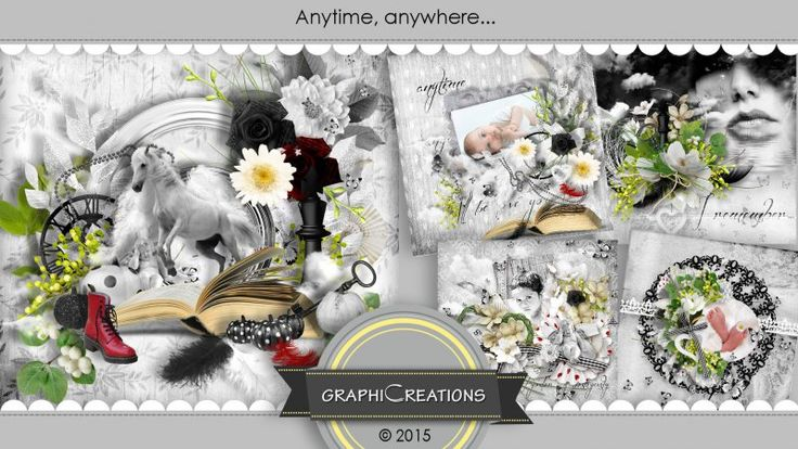 Anytime, anywhere... by Graphic Creations