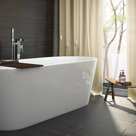 Windsor Imperial 1690 x 790mm Double Ended Freestanding Bath Feature Image
