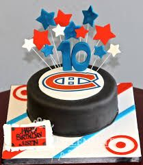 canadiens themed cakes - Google Search