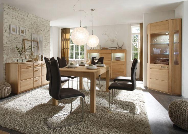 Esszimmermbel Eiche Bianco Asti Esszimmer Komplett Holz 21365 Buy Now At  Https   Raumteiler Kuche Esszimmer