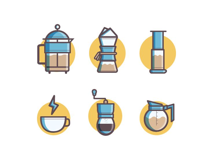 Another Set of Icon for Coffee!