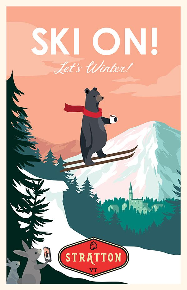 Stratton Winter Campaign on Behance