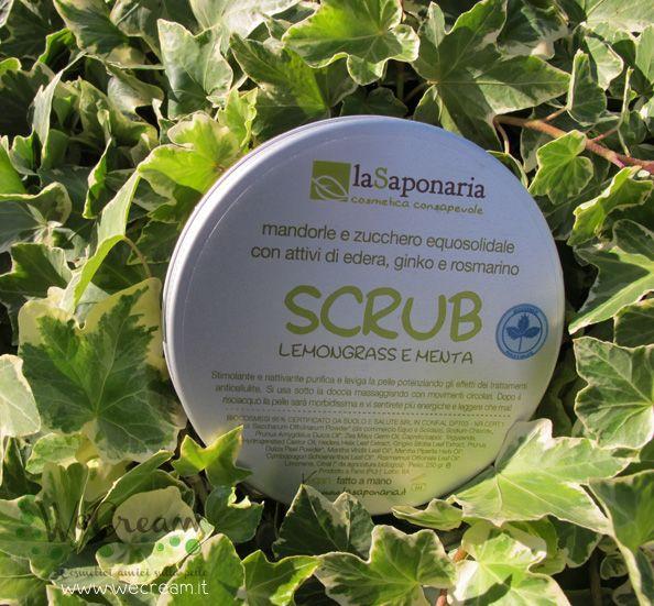 Scrub Bio La saponaria -  www.wecream.it   info@wecream.it