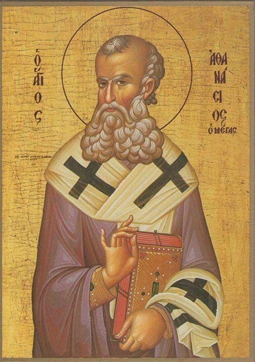Αγιος Αθανασιος Ο Μεγας, Πατριαρχης Αλεξανδρειας (295 - 373), __January 18