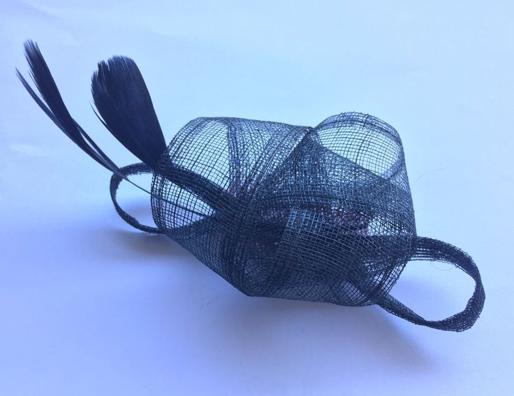 A personal favourite from my Etsy shop https://www.etsy.com/au/listing/253848927/black-fascinator-made-from-looped
