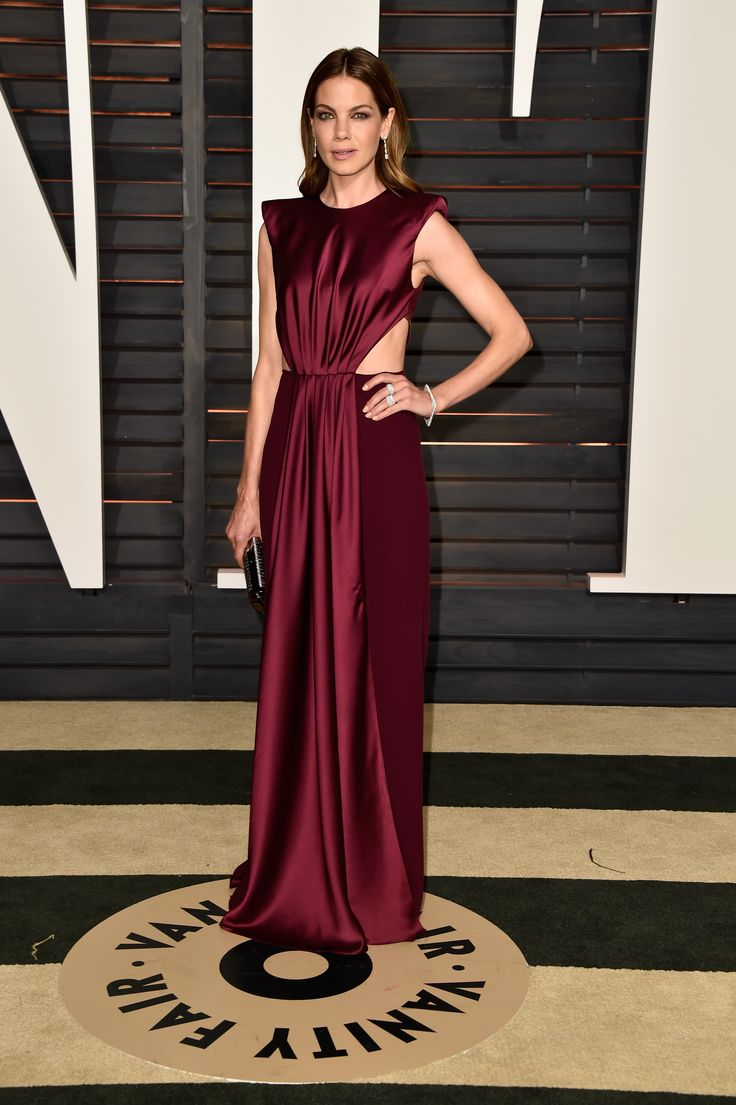 All the Looks From the 'Vanity Fair' Oscars After Party,Michelle Monaghan