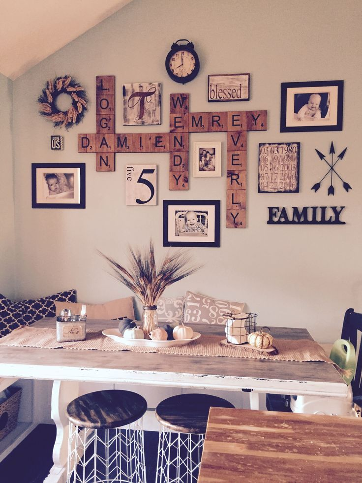 54 Dining Room Wall Gallery In Farmhouse Style – #…