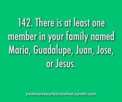 you know you're mexican when...