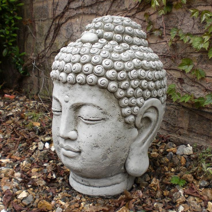 Buddha Head Statue Google Search Pottery Pinterest