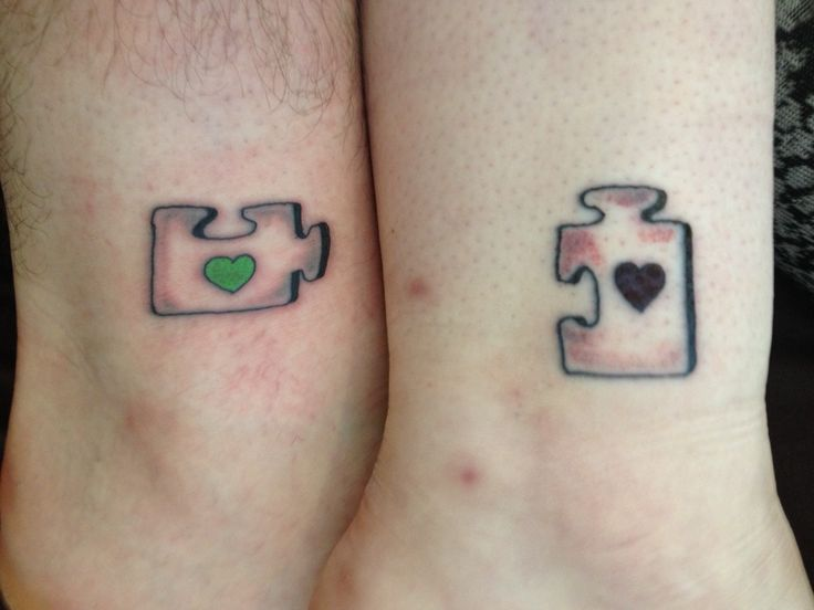 Best 25 couples matching tattoos ideas on pinterest for Matching husband and wife tattoos