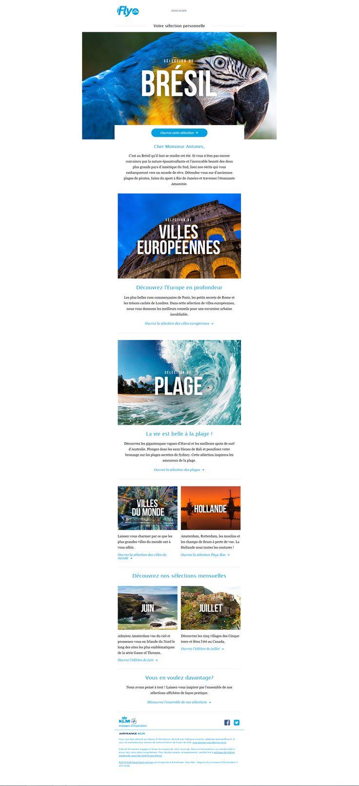 Objet : ✈ Cher Monsieur Objet : Antunes, Découvrez les meilleures excursions urbaines en Europe, le charme Pays-Bas et les plus belles plages du monde Email avec des visuels immersifs