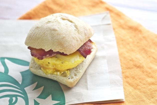 Make your own Starbucks Breakfast Sandwich at home! They're make-ahead, and sooo good!