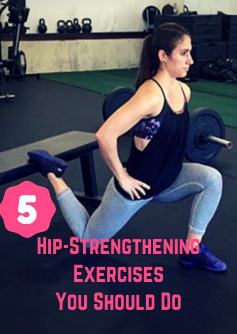 Whether you're performing everyday actions such as standing, walking or bending over, or you're taking things to another gear and running, jumping or strength training, having strong hips can make a positive impact. The muscles of your hips and glutes help with hip extension, rotation, abduction and stabilization. Sadly, millions of people sit for too many hours of the day. This sedentary lifestyle leads to poo…