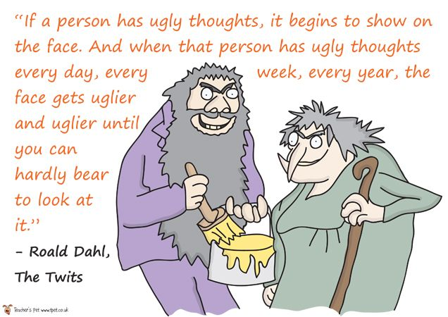 Teacher's Pet Displays » Roald Dahl Book Quotes » FREE downloadable EYFS, KS1, KS2 classroom display and teaching aid resources » A Sparklebox alternative