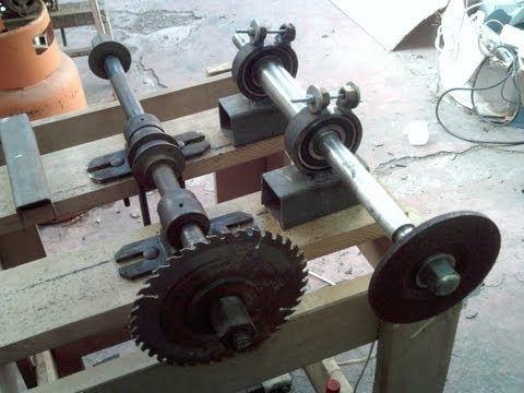 """Sierra de banco hecha en casa, Homemade - How to build a """"table saw""""! - YouTube"""