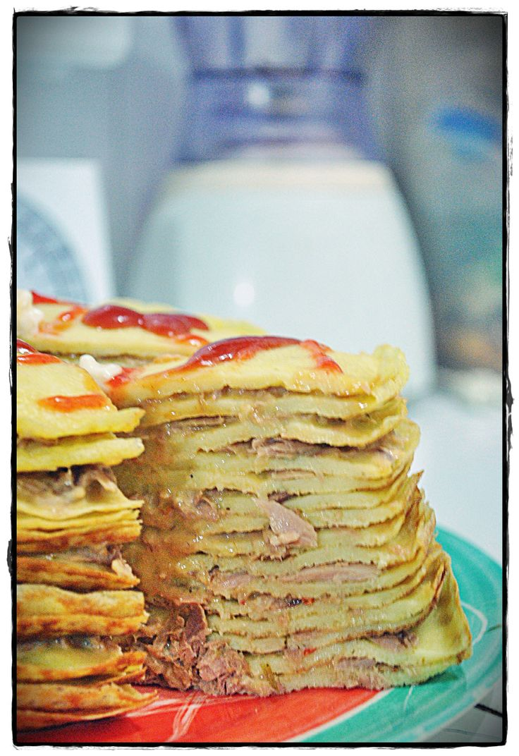 tuna mayo - 1000 layer cake