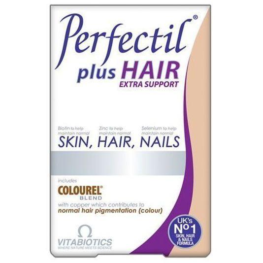Vitabiotics Perfectil Plus Hair Extra Support Συμπλήρωμα Διατροφής για Υγιή Μαλλιά, Δέρμα & Νύχια 60 tabs. Μάθετε περισσότερα ΕΔΩ: https://www.pharm24.gr/index.php?main_page=product_info&products_id=11933