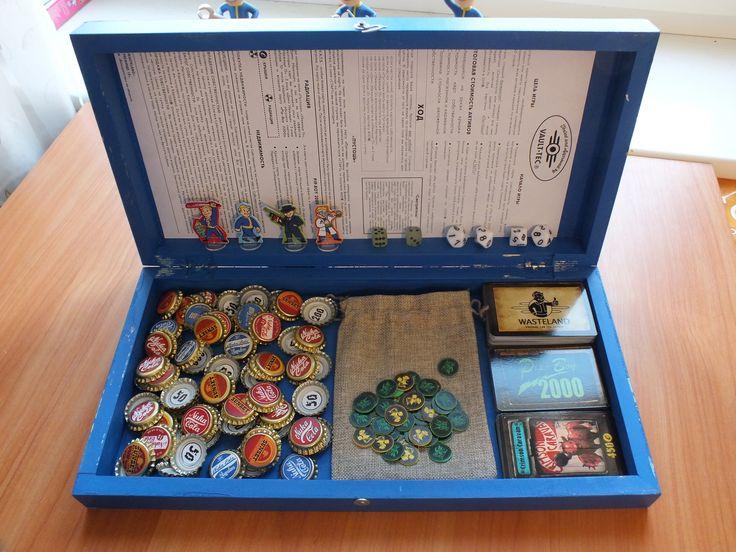 Подарок Пикабу на праздники: настольная игра по Fallout. своими руками, монополия, fallout, fallout 1, подарок, подарок на 23 февраля, Настольные игры, длиннопост