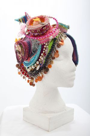 Exotic and Common Combined in Crochet Artist Karin Kempf's Creations