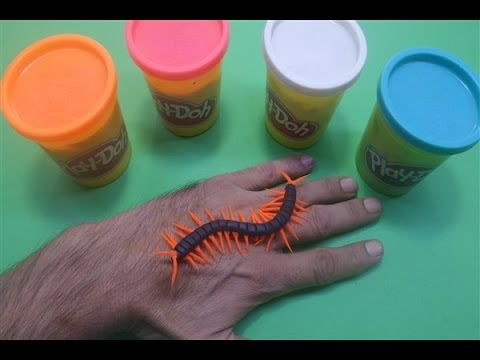 How to make play doh Centipede & Crafts for Kids