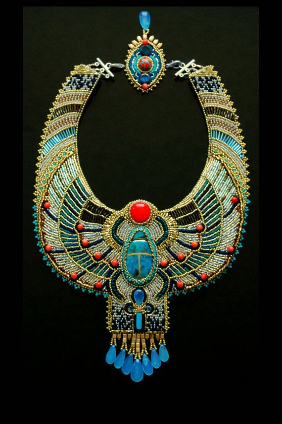 Egyptian necklace.
