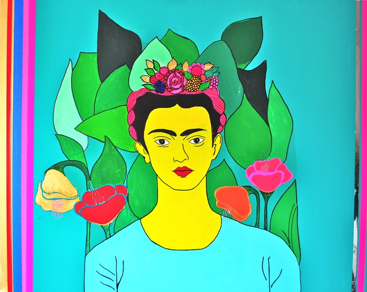 Retrato de Frida  100x70cm