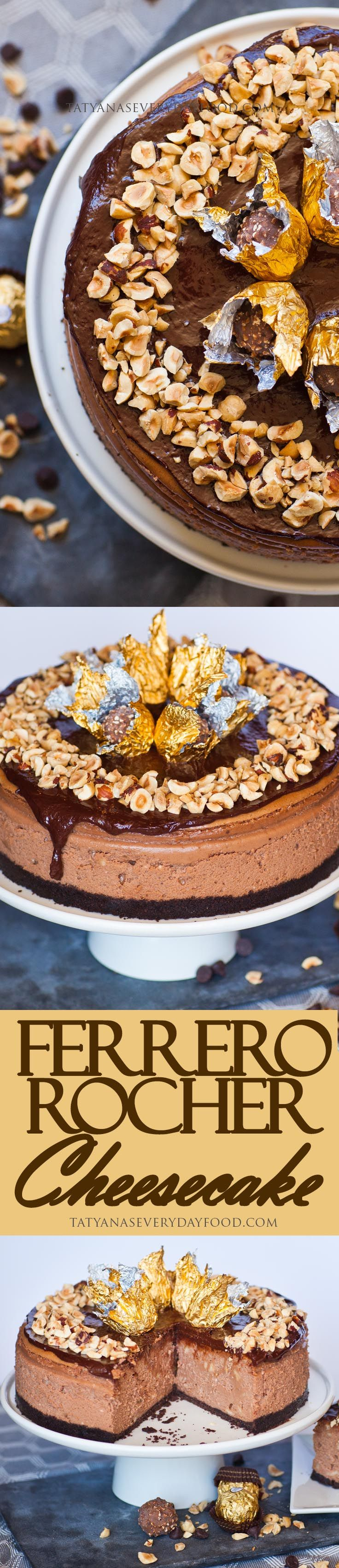 If you're a fan of Ferrero Rocher chocolate candy, you'll love this chocolate-y cheesecake! This luscious and rich Ferrero Rocher cheesecake is made with a whole jar of Nutella, loaded with hazelnuts and hazelnut liqueur and topped with a silky chocolate ganache.  A must-try for the chocolate lover! Watch my video recipe for all the […]