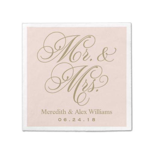 Personalised Paper Napkins   Custom Napkins   Confetti co uk My Wedding Reception Ideas