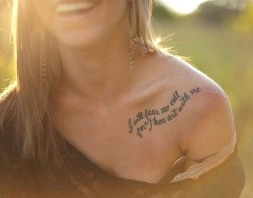 Top Collar Bone Tattoo Ideas ( Part 4) (5)