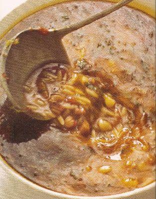 ΠΑΝ ΜΕΤΡΟΝ ΑΡΙΣΤΟΝ: Χταποδόσουπα... Νηστίσιμα φαγητά με συνταγή Αγίου ...
