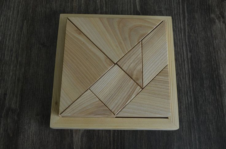 Tangram/Peg Puzzle/Wooden Puzzle/Montessori Baby/First
