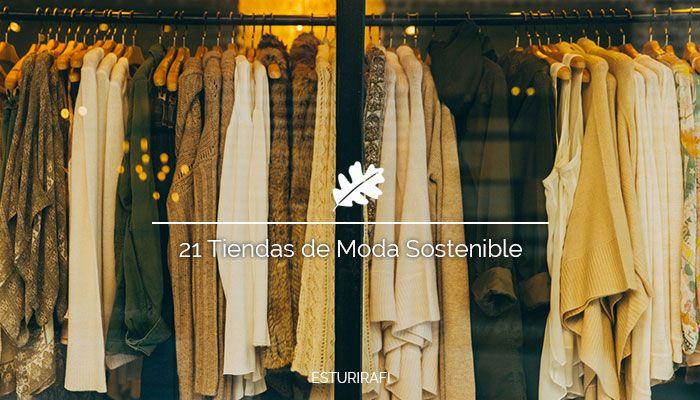 21 Tiendas de Moda Sostenible