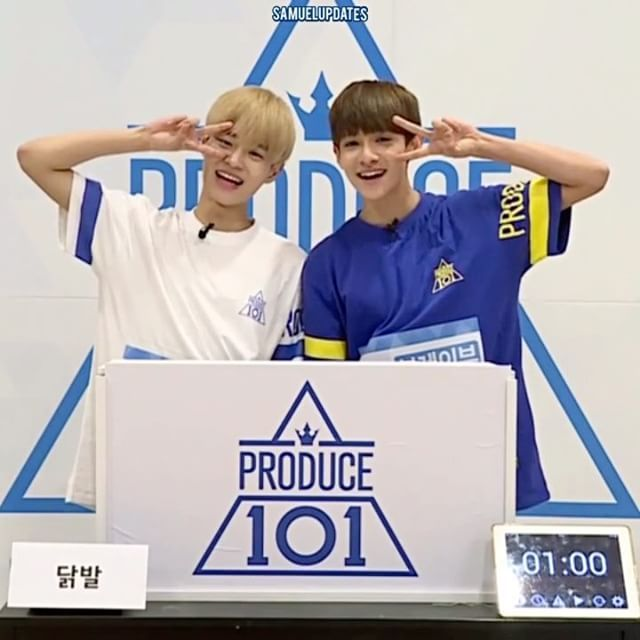 "644 lượt thích, 22 bình luận - KIM SAMUEL, 김사무엘. (@samuelupdates) trên Instagram: ""KIM SAMUEL & LEE DAEHWI Hidden Box Mission.  THEY'RE SO CUTE  @bravpunxh - (1/2)"""