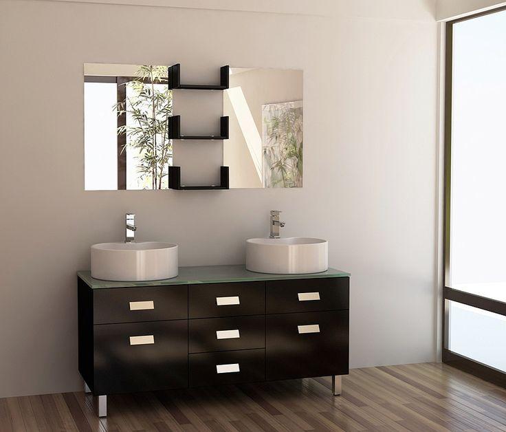 Design Element Dec350 Wellington 55 Double Sink Bathroom Vanity Set Http Www