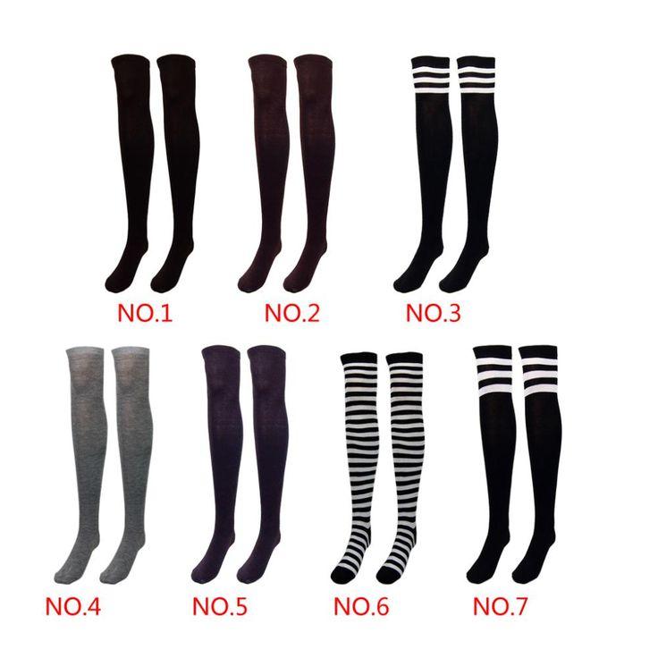 Aliexpress.com : Buy Fashion Design Women  girl Over the Knee Socks Thigh High…