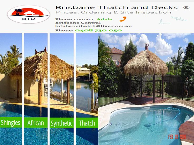 Brisbane Thatch & Decks specialises in installation, maintenance and supply of bali huts Brisbane using best techniques giving you most enjoyable experience through bali hut thatching. We manufacture and design Gasebos, Pergolas, Pavilions and Cabanas allowing people relax and reduce stress during vacation. Reach us for reliable bali hut installation.