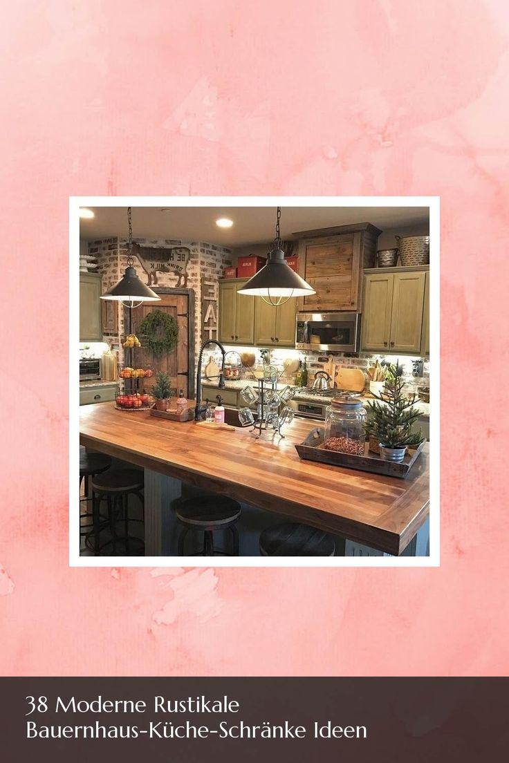awesome 38 moderne rustikale bauernhaus-küche-schränke