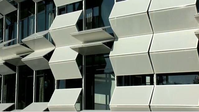Dynamic Facade Design Psu Sacramento Studio Pinterest