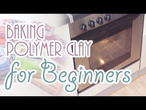 Hey everybody!  I got so many questions on how to bake polymer clay so I decided to make a short video about it. It covers what polymer clay actually is and why you have to bake it. I will show you what things you will need and some tips on the process! I hope you will find it helpful!    Things you will need:  - Oven  - Oven thermometer (optional, i...