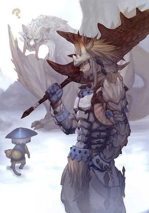 Monster hunter - Barioth  foam armor
