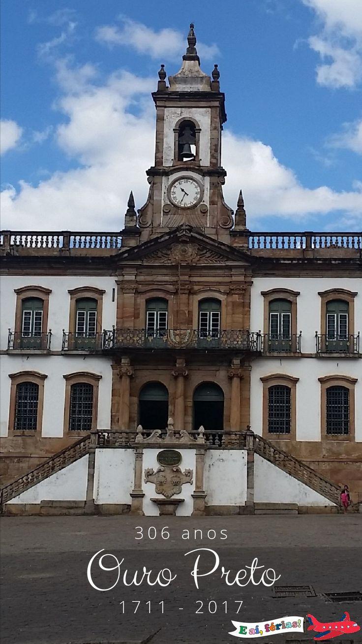 Roteiro de um dia em Ouro Preto, Minas Gerais.