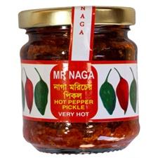 Mr Naga Chilli Pickle. - amazing on pork  then BBQ
