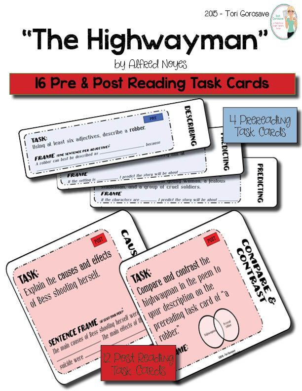 Best The Highwayman Images On   Poem Poetry And