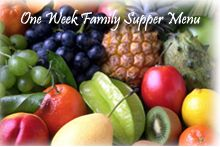 A lifestyle of healthy eating is always more sustainable than a quick diet! Zelda compiled this one week meal plan to help families and individuals to make healthier choices - a great way to get your thinking in the right direction. Get this free download at: http://www.family1stnutrition.com/Freebies.aspx